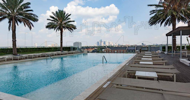Pool Overlooking Downtown